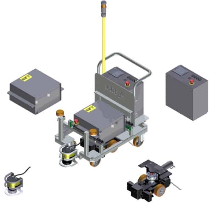 автоматизированные тележки INDEVA AGV