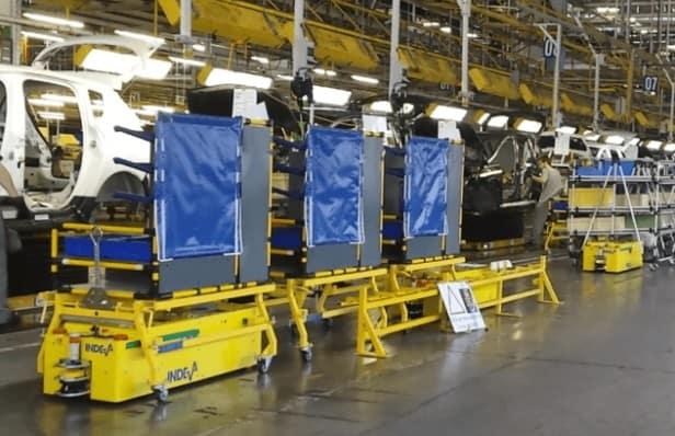 AGV INDEVA ускорить производственный процесс и избежать повторяющихся операций.