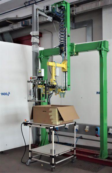 Простая упаковка кондиционеров воздуха с помощью решений INDEVA