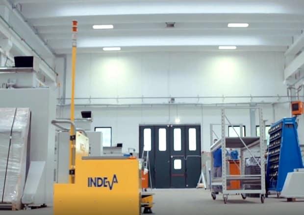 Компания CMS выбирает AGV INDEVA для своей установки.