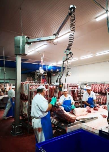 Обработка мяса