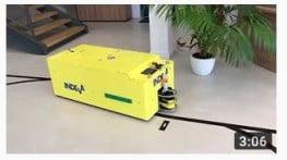 AGV Tunnel - автоматические управляемые тележки